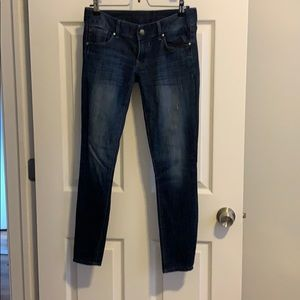 Express ankle cut jeans size 0S